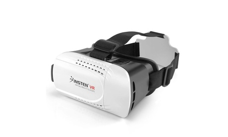 Insten VR Virtual Reality Glasses Headset for 4.7 to 6.0 inch Screen Smartphone e43c1150-17a5-4fd9-b192-e25fcf2d6c7f