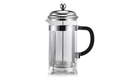 Coffee Tea Maker Coffess Press Pot Stainless Steel Glass Coffee & Tea fc6e1d62-ac32-4037-844c-4ea447e4e5bd