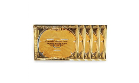 Women Moisture Essence Anti Ageing Gold Crystal Collagen Facial Mask Face Masks effecc53-9d4a-4bb7-9c59-feca88dac475