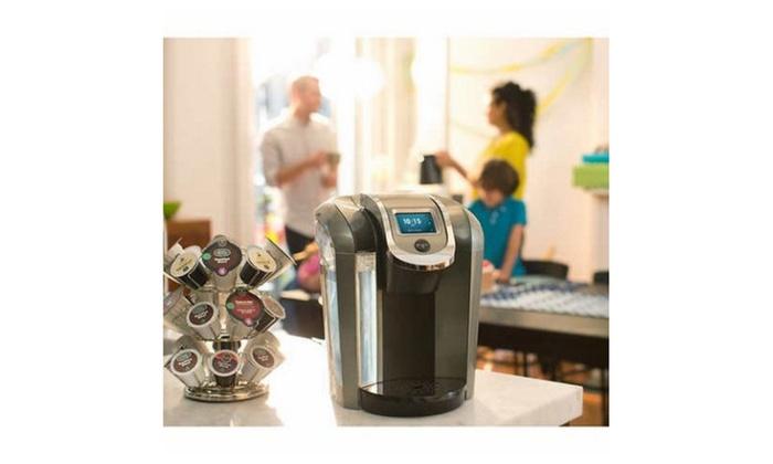 keurig k525c single serve coffee maker 15 k cup pods and my k cup