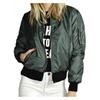 Uniqstore Women Classic Solid  Jacket  Zip Up  Jacket Coat