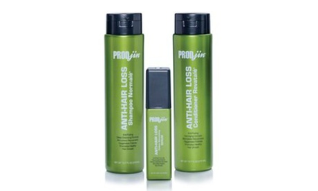 PRODjin Anti-Hair Loss System with Shampoo, Conditioner, and Serum 22bf4ccb-e915-4af2-83db-83884283209f