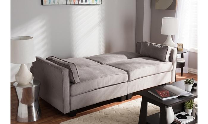 Felicity Fabric Upholstered Sleeper Sofa