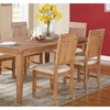 Vadso 7 Piece Dining Set in Wood Finish