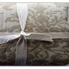 Jacquard Medallion Ivory/Flax/Natural Duvet Cover