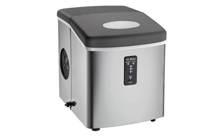 Igloo Compact Ice Maker, Stainless Steel 01591e49-1bd3-47e2-94a3-9547f4be8a33