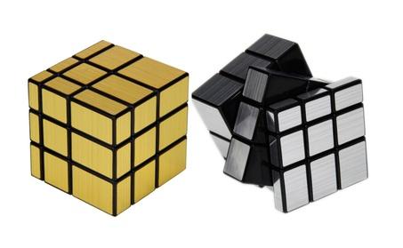 3x3x3 Cool Square Mirror Magic Cube Puzzle Toy Golden 49e3a8c1-4ec2-498c-8d03-d1749898a118
