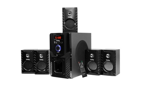 Home Theater Speaker System Package w/ Bluetooth Streaming Sd Usb Aux fa9bb46b-5f58-4efd-9903-6e00f5fadec9