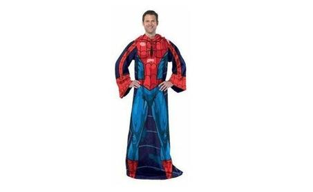 Marvel Spiderman Comfy Throw - Comics Fleece Blanket Sleeves b36333c0-8301-4fbf-a65c-4520e0faad26