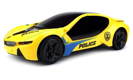 Velocity Toys Electric Future Police 1:18 Scale Bump and Go Toy Car e3f82cfe-4abb-4ff2-a905-d8c7a64a2a41