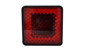 Hitch receiver Brake Light