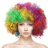 Clown Wig Rainbow Wig Costume Party Accessories
