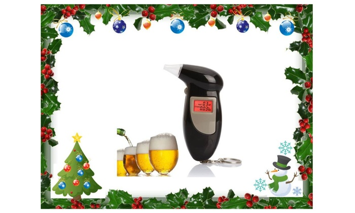 CD Digital Police Alcohol Breath Test Tester Buy One Get One Free