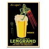 'Bieres Brasserie Lengrand' Canvas Rolled Art
