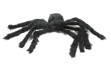 4 ft Huge Halloween Outdoor Decorations Hairy Spider