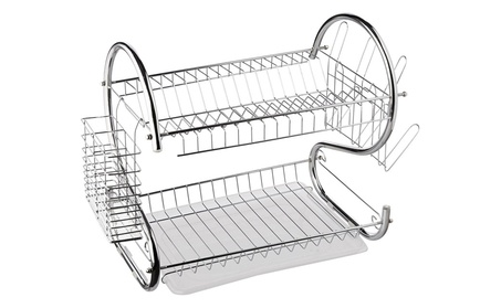 Better Chef DR-16 16 in. Chrome Dish Rack d8246b24-bb98-4a4e-bce2-91f1946f8b40