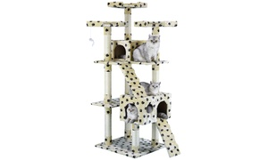 "GoPetClub 72"" Cat Tree Condo Furniture"