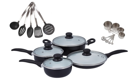 Aluminum Nonstick Cookware Sets (21-Piece) 0695b320-1dff-449b-8f21-7b83a5ee95ce