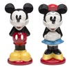 Mickey and Minnie Ceramic Salt/Pepper Shakers