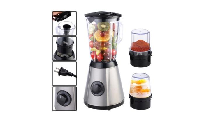3in1 Electric Blender Mixer Chopper Grinder Food Fruit Processor