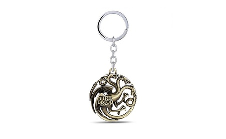 Game of Thrones Targaryen Dragon Die-Cast Keychain 9a9c75aa-64e9-4791-be40-97374aa7fc82