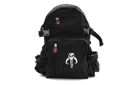 Star Wars Mandalorian Skull Boba Fett Heavyweight Backpack 45a42c45-c2a8-456e-8453-cc13898dd6dd