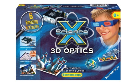 Ravensburger Science X® Mini - 3D Optics 18177 c35cd615-e38e-4d7c-9273-b158f05078e2