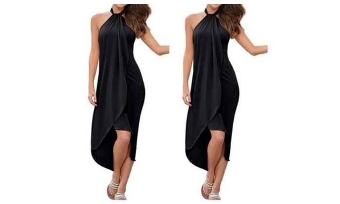 Summer Long Maxi Evening Party Long Dress Beach Bobo Dresses