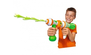 Slime Blaster Gun & Gelli/Slime-Ooze Baff with Bendable Figures!