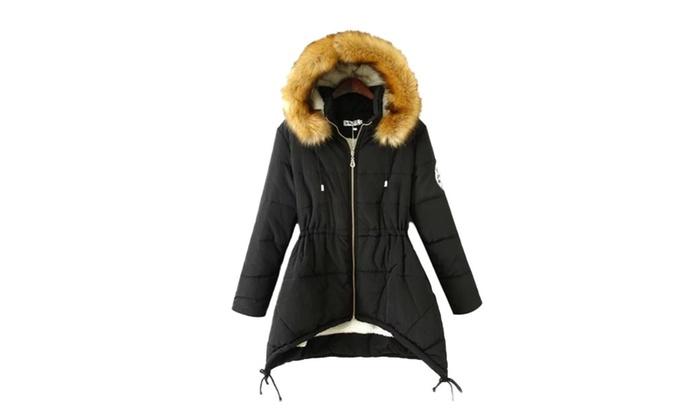 Women's Organic Cotton Casual Crew Neck Korean Coats