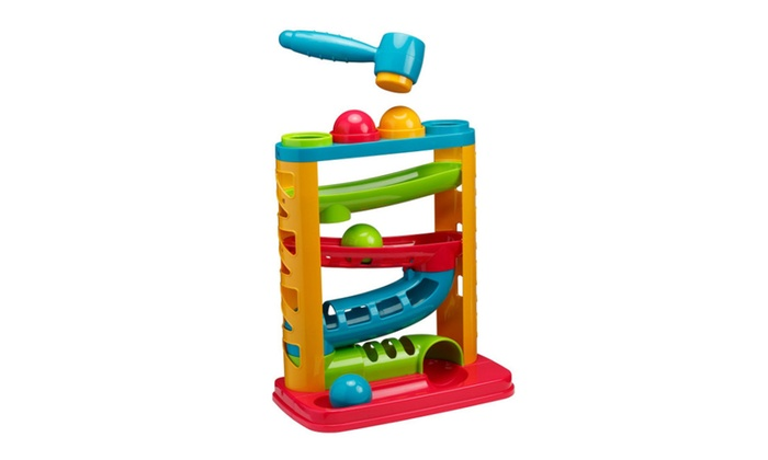Playkidz Developmental Baby Toys Toys for Baby Super Durable Pound A Ball Great Fun for Toddlers.