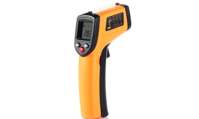 Non-contact Infrared IR temperature meter Digital thermometer gun LCD Display