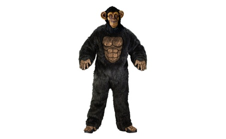 Costumes For All Occasions FW130304 Comical Chimp Adult 801ed11f-c49a-4fb9-87bd-54d4f2a29c32
