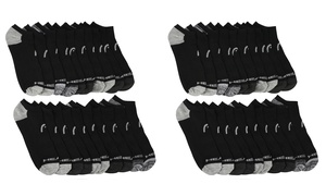 20 Pairs: HEAD Men's Moisture Wicking Cushioned Athletic Socks