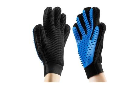 Pet Hair Remover Pet Grooming Glove Bath Brush Gentle Massage Tool 3de980be-5631-409e-90e3-4279e5487b0d
