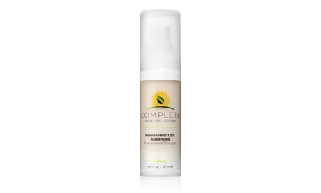Complete Skin Solutions Resveratrol 1.5% Advanced Strength (1oz)
