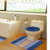 Over Size 3 Piece blocks Bath Mat Set