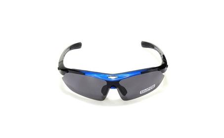 Bicycle Sunglasses Glasses Goggles Blue Frame Black Lens 27dee310-4e07-4001-a7ea-1283ba1d09ad