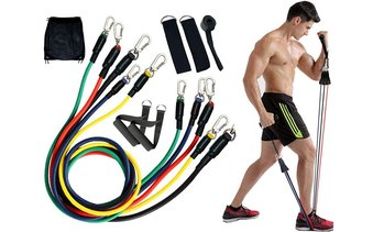 Exercise Bands, Resistance Bands Set for Men Women Workout Home Gym