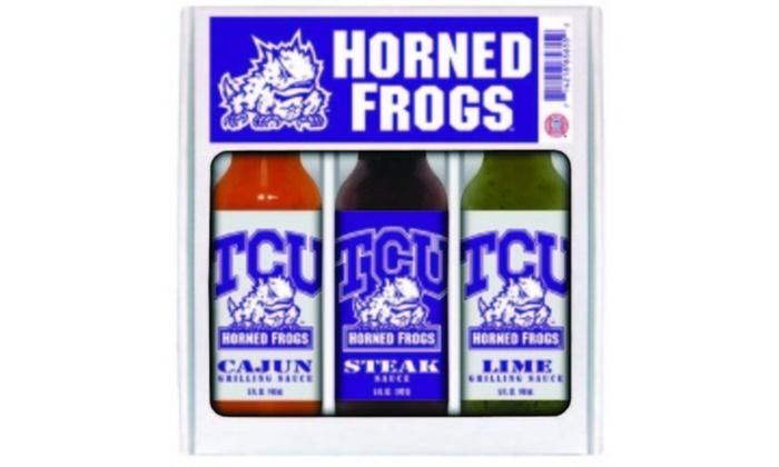 Evergreen NCAA TCU Horned Frogs Tiki Totem
