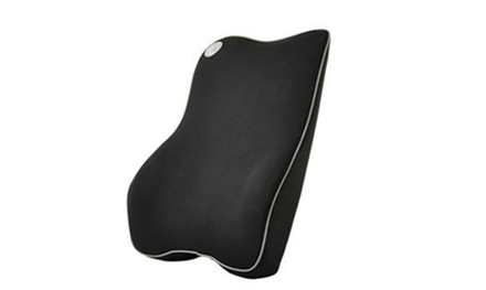Memory Foam Lumbar Support Cushion for Home Office Car Seat Back Chair Pillow