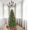 Astella 7' Hinged Artificial Christmas Pine Tree w/ Solid Metal Legs & 800 tips