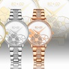 So & Co New York Women's Bracelet Watch with Decorative Dial