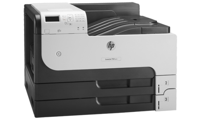 Groupon Goods: HP CF236ABGJ LaserJet Enterprise 700 M712dn Office B&W Laser Printers