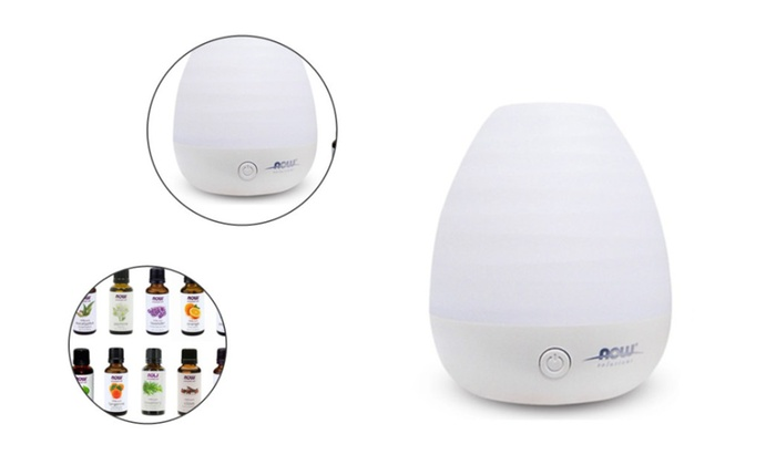 Ultrasonic Diffuser Bundle Aromatherapy with 10 Pack Aroma Oils
