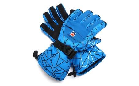 Men Winter Waterproof -35℃ Snow Motorcycle Snowmobile Snowboard Glove 1592878a-7e91-4c22-87c6-a575a44eb3bb