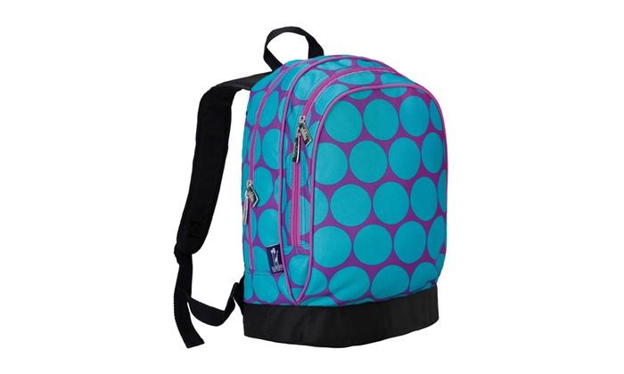 9d8460331187 Wildkin Big Dot Aqua Sidekick Backpack - Purple