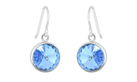 Swarovski Elements Brilliant Round Cut Drop Earrings aa12d440-a2a5-40ec-995a-1648ae3b4df9