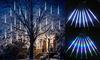 8 Tube Falling Rain Drop Meteor Light Xmas Party Garden Outdoor Light 30/50cm