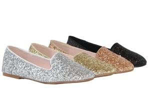 ef69a83a1 Women Fashion Glitter Lightweight Dress Ballet Flat Shoes Sequin